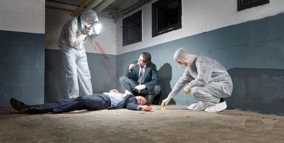 Une équipe d'expert, un corps, 1 heure pour résoudre l'enquête.